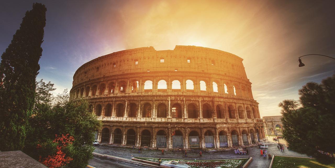 visiting rome