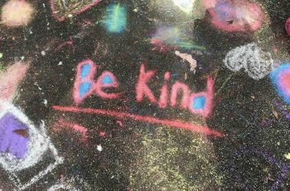 spread kindness in college