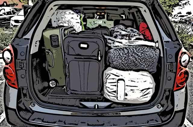 dangers overloading car