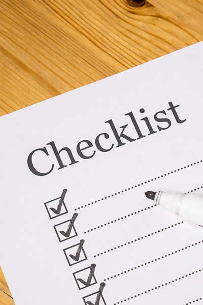 college moving checklist